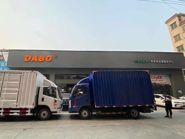 广州城市快线配送车